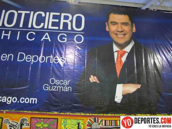 Oscar Guzmán dice adiós a Chicago