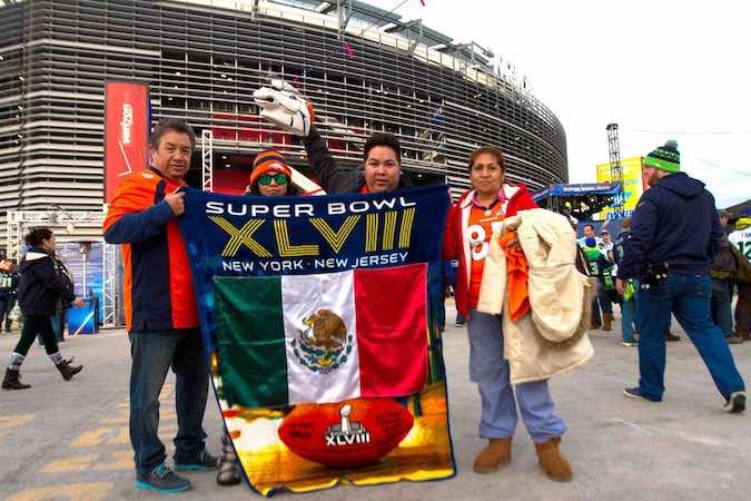 Mexicanos en el Super Bowl