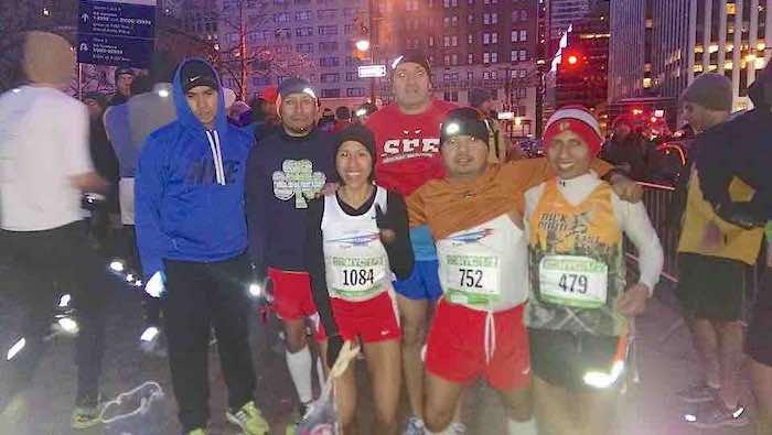 Alberto Pérez, Francisco Guerrero, Verónica Laureano, Cristian Calderón, Manuel Bautista y Felipe López. Foto del Facebook de Manuel Bautista