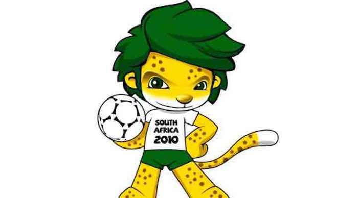 Zakumi la mascota de Sudáfrica 2010
