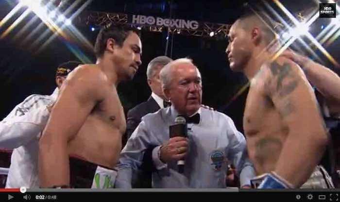 El boxeador mexicano Juan Manuel Márquez ganó esta noche por decisión unánime al estadunidense Mike Alvarado, en emotiva pelea celebrada en el Fórum de Inglewood.