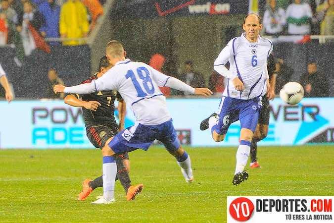 México contra Bosnia en el Soldier Field de Chicago