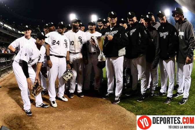 White Sox ganan Crosstown Cup a los Cubs y huele a limpia