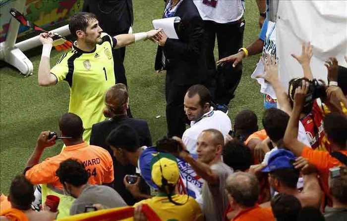 """""""Ha sido el peor partido de mi vida en la selección"""", dice Casillas. EFE"""