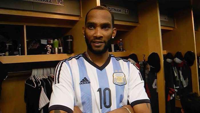 Alexeí Ramírez es fanático de Leo Messi y la selección argentina de futbol. Foto Yodeportes.com