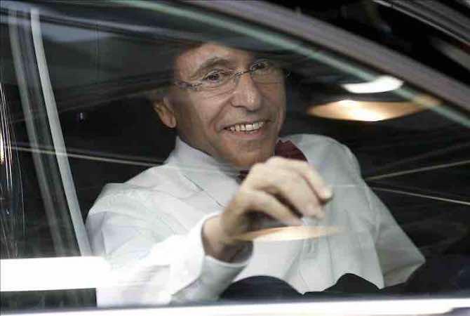 """Elio Di Rupo """"desafía"""" a Barak Obama de cara al partido entre Bélgica y EEUU. EFE"""