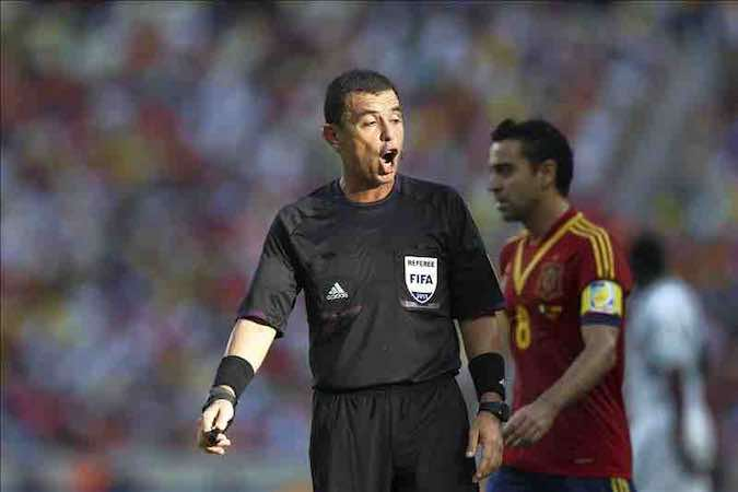 El salvadoreño Joel Aguilar pitará el Argentina-Bosnia Herzegovina. EFE