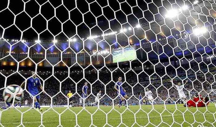 El gol de Messi en el Argentina-Bosnia provocó 236.000 tuits en un minuto. EFE