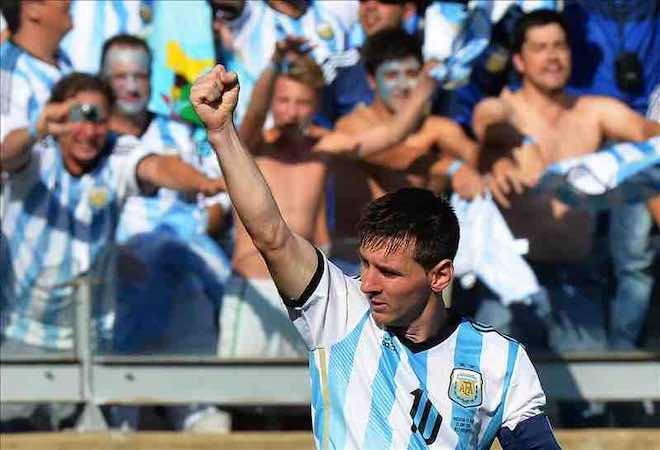 """Lionel Messi, """"Estoy contento, pero hay mucho margen para mejorar"""". EFE"""