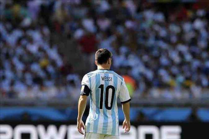 """El abuelo de Messi asegura que su nieto """"ya no corre como antes"""". EFE"""
