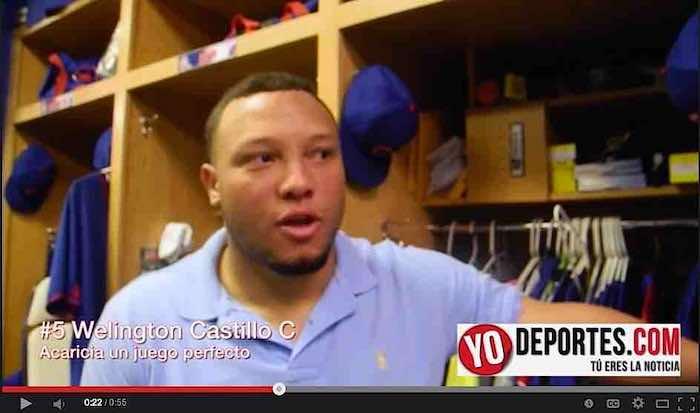 Welington Castillo acarició siete entradas perfectas en el juego de Cubs vs. Cincinnati Reds.