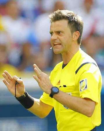 El árbitro Nicola Rizzoli. EFE