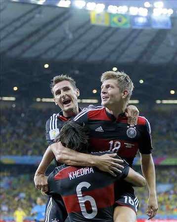 Alemania es la favorita de los mexicanos para ganar el Mundial. EFE