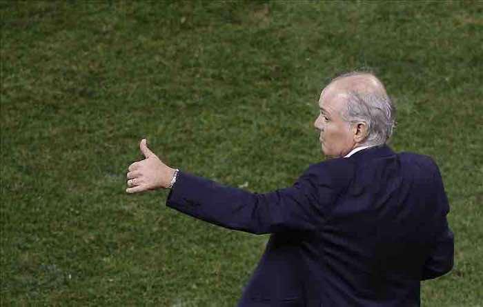 El técnico de la selección argentina, Alejandro Sabella. EFE