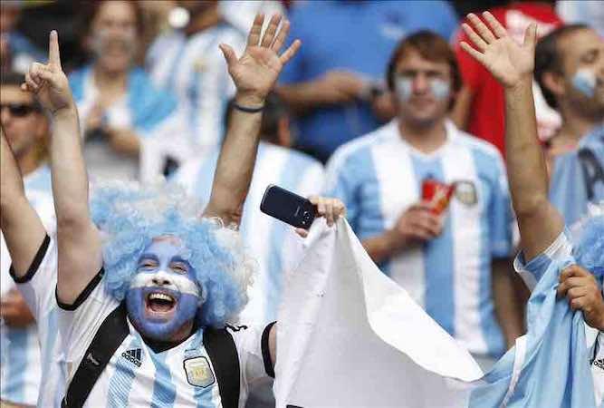 Las supersticiones argentinas para ganar el Mundial. EFE