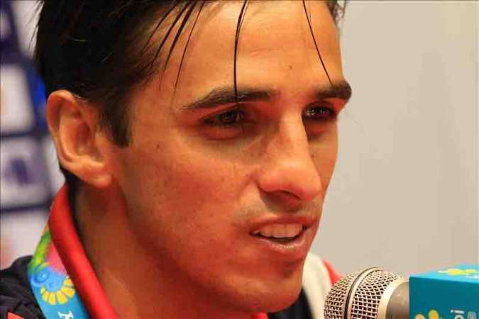 Bryan Ruiz jugador de Costa Rica. EFE