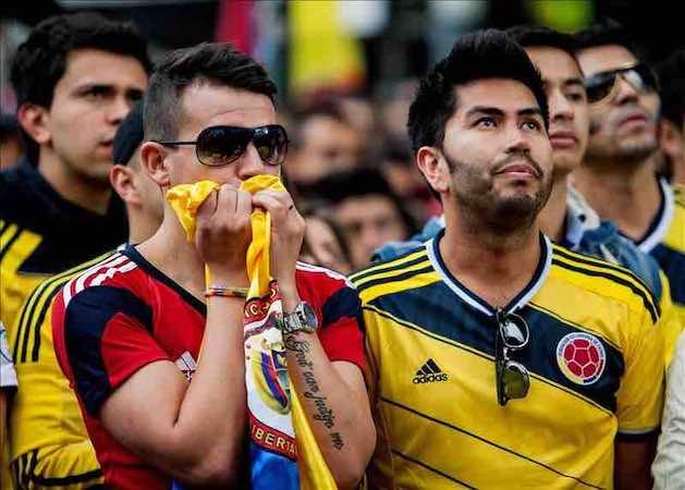 Incidentes tras el partido con Brasil dejan en Colombia un muerto y 4.340 riñas. EFE