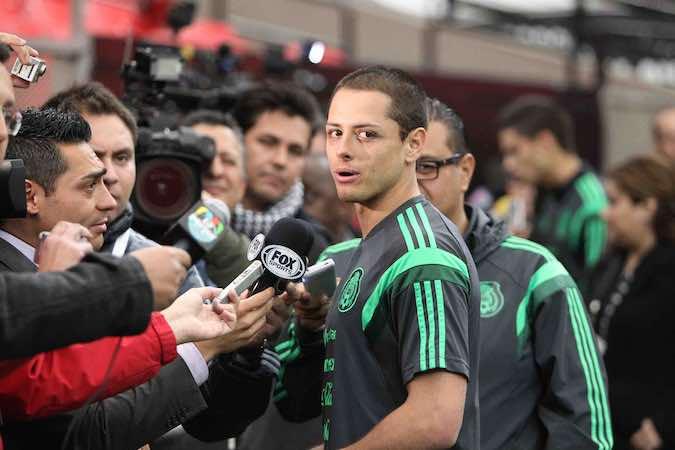 """Javier """"Chicharito"""" Hernández."""