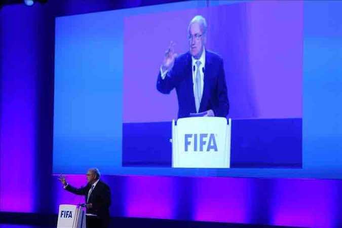 El presidente de la FIFA, Joseph Blatter. EFE/Archivo