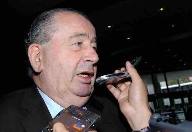 Julio Grondona, presidente de la Asociación de Fútbol Argentino. EFE