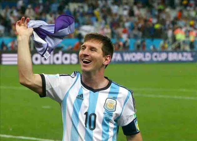 Lionel Messi mantiene viva su ilusión de ser campeón del mundo. EFE