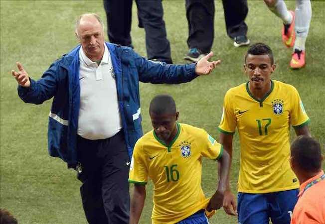 Brasil no puede acabar con el maleficio de la Copa Confederaciones. EFE