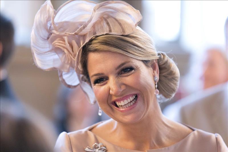 """La reina argentina de los holandeses, ante una """"Máxima"""" disyuntiva La reina Máxima de Holanda. EFE/Archivo"""