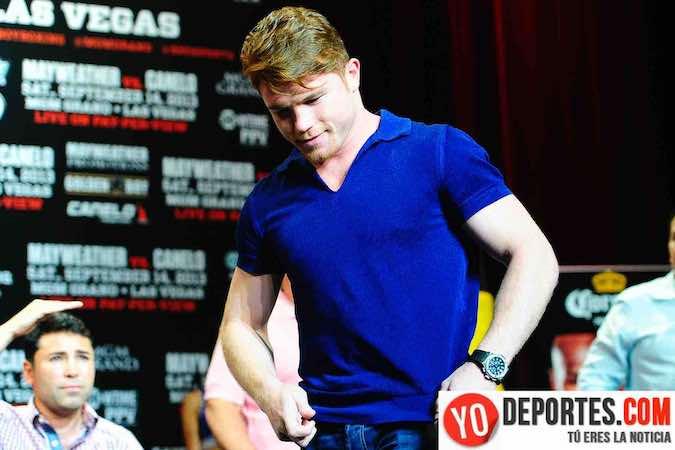 "Saul ""Canelo"" Alvarez alcanza acuerdo con canal de EUA para sus peleas"