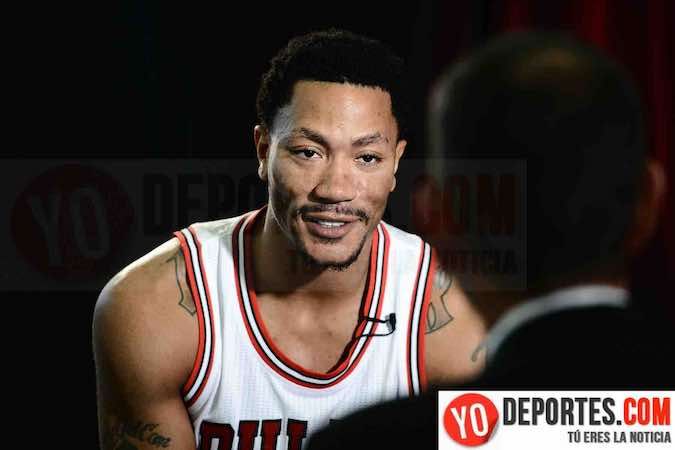 Derrick Rose Chicago Bulls Media Day