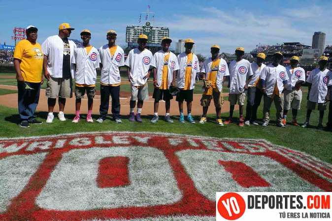 Jackie Robinson West at Chicago Cubs