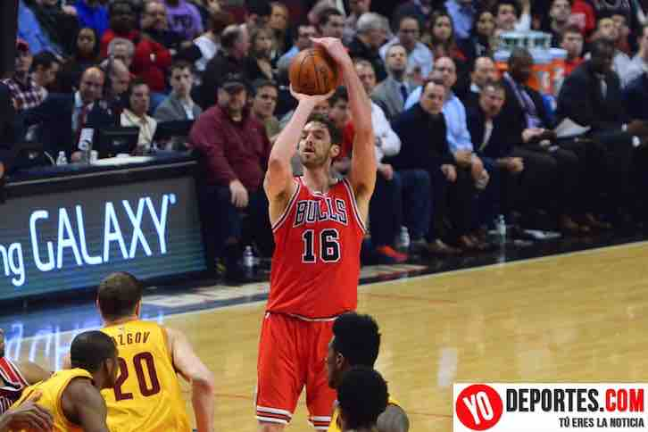 Pau Gasol hizo 18 puntos en el triunfo de Chicago Bulls contra Cleveland Cavaliers de LeBron James