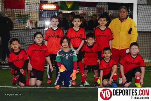 Pique contra Chicago Eagles liga Mundo Latino Soccer League