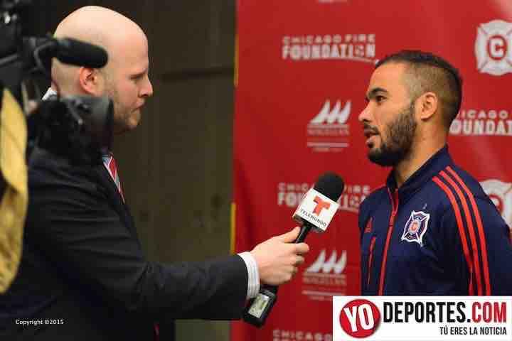 Rodrigo Arana la voz en español con Chicago Fire en ESPN Deportes