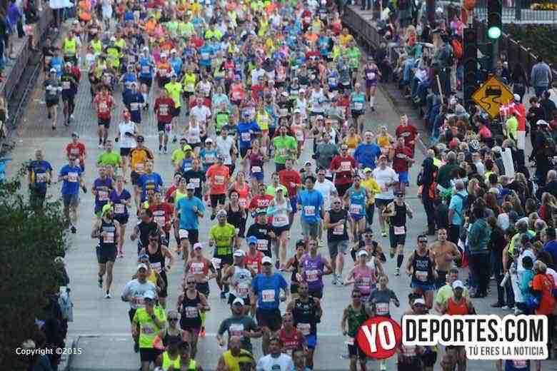 Esperan 1.7 millones de espectadores en el Maratón de Chicago