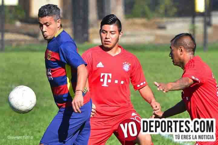 La Loma-Meson Jr-International Fuerza Latina Soccer League