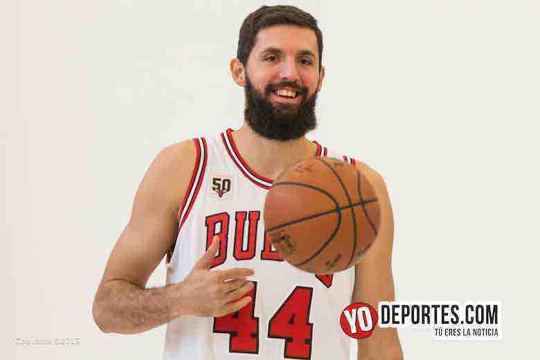 Nikola Mirotic Chicago Bulls Media Day