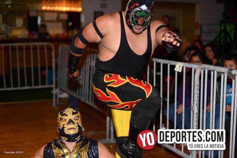 Imperio Azteca regresa a Lucha Libre Total