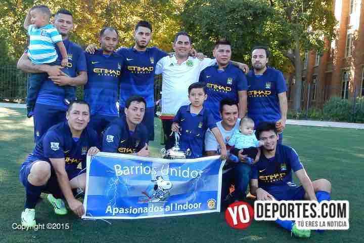 Villatoro-Barrios Unidos Liga La Troncal Chicago