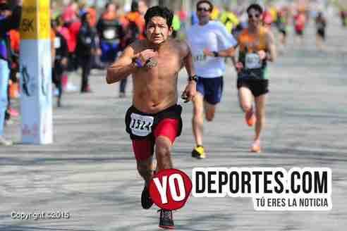 Elpidio Vilchez escribe con sangre el dolor de nueve maratones