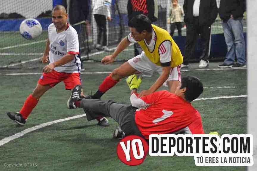 La Juve contra Fenix Fuerza Latina Soccer League