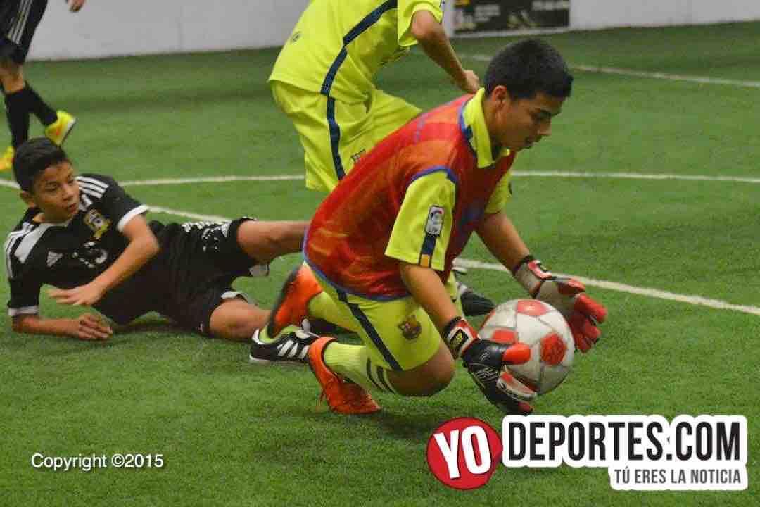 Chitown Futbol Obregón contra San Antonio FC