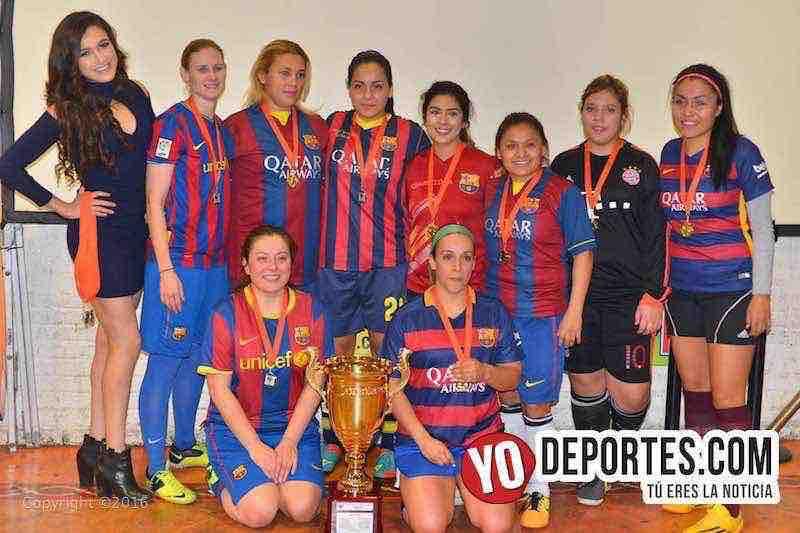 Barcelona campeonas de los viernes en Chitown Futbol