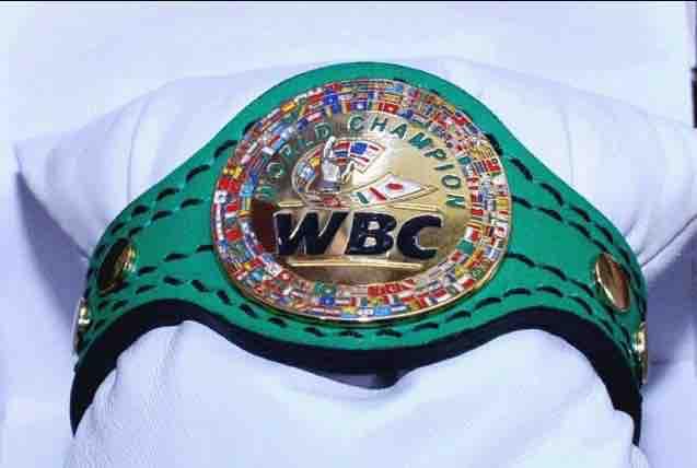 pulsera del Consejo Mundial de Boxeo