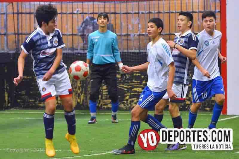 Dyamic FC campeones en Chitown Futbol