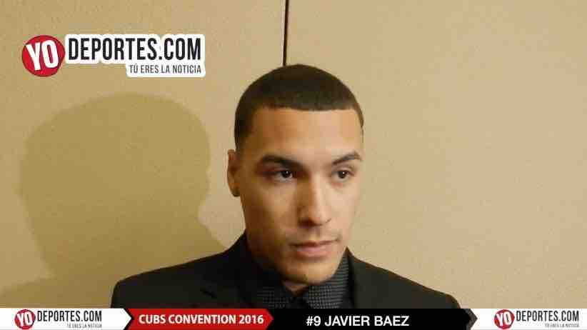Javier Baez Chicago Cubs