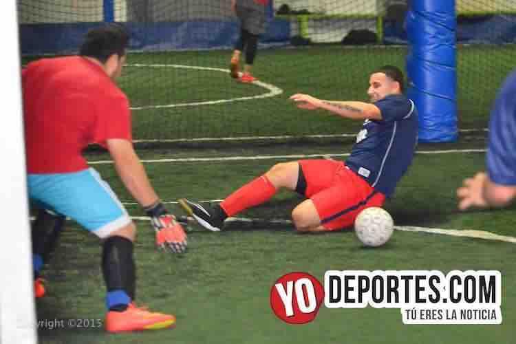 La Juve contra Salamanca Fuerza Latina Soccer League