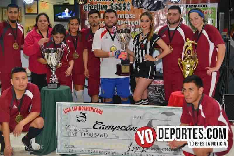 Nightmares campeon COED Liga Latinoamericana