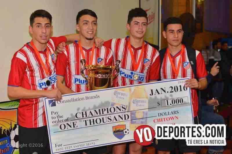 Real Morelos campeón en Chitown Futbol