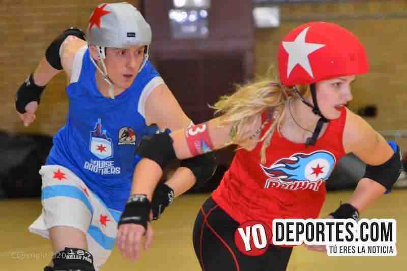 Chicago Red Hots vs Bruise Brothers Roller Derby