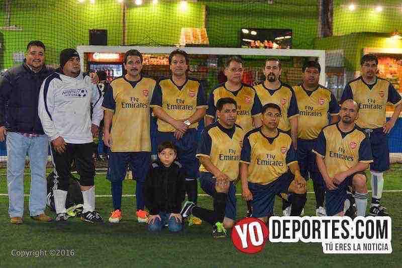 Real del Moral arrebata liderato de Master Futsal league